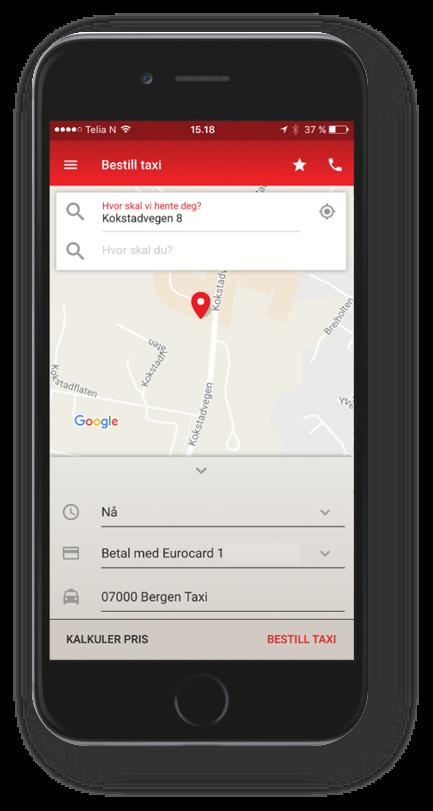 skjermbilde av app
