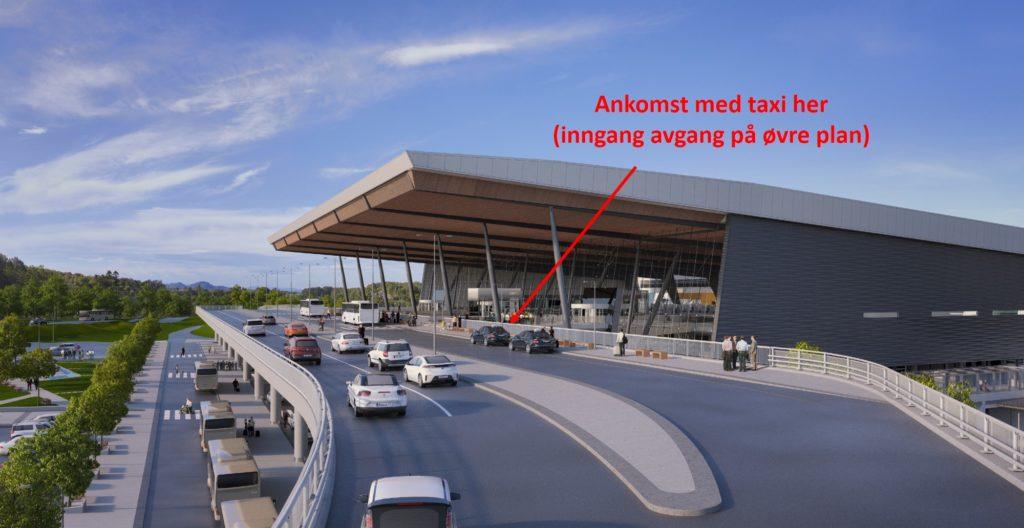 bilde av terminalen på flesland